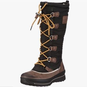 Ecco Hill Lace-up Goretex Waterproof Winter Boots